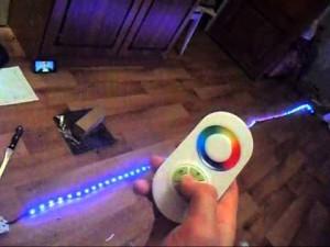 Пульт светодиодной ленты со встроенным диммером
