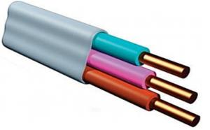 плоский установочный кабель