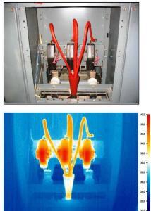 поиск проводки тепловизором